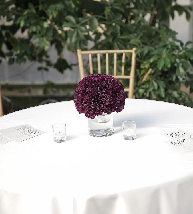 White Lamour Table Linen, White Satin Table Cloth
