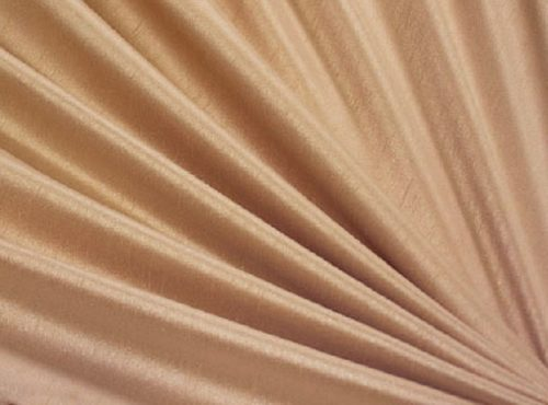 Almond Dupioni Table Linen, Tan Table Cloth