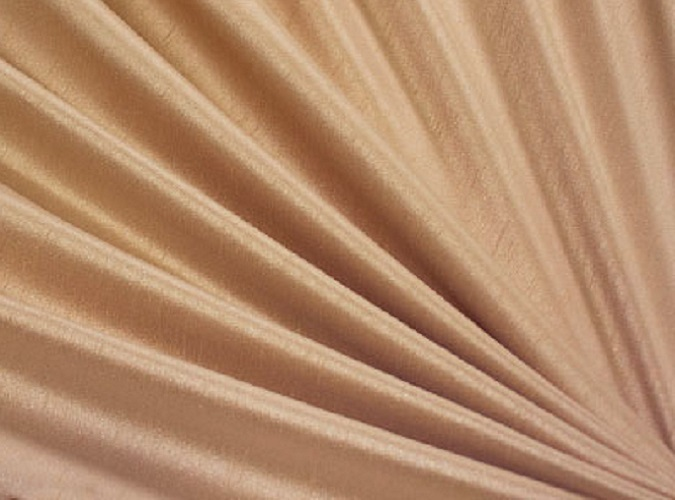 Almond Dupioni Table Linen, Tan Table Cloth
