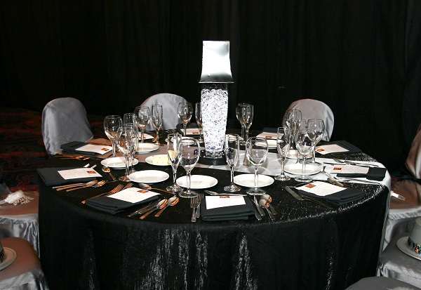 Black Crush Table Linen, Black Crush Table Cloth