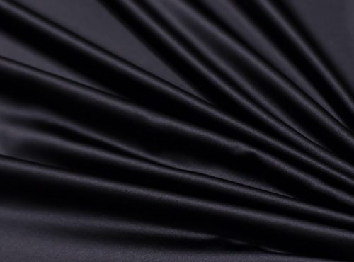 Black Lamour Table Linen, Black Satin Table Cloth