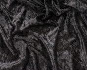Black Velvet Table Cloth, Black Crushed Velvet