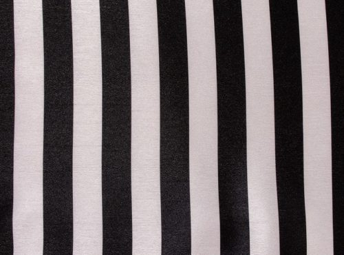 Black & White Stripe Table Linen