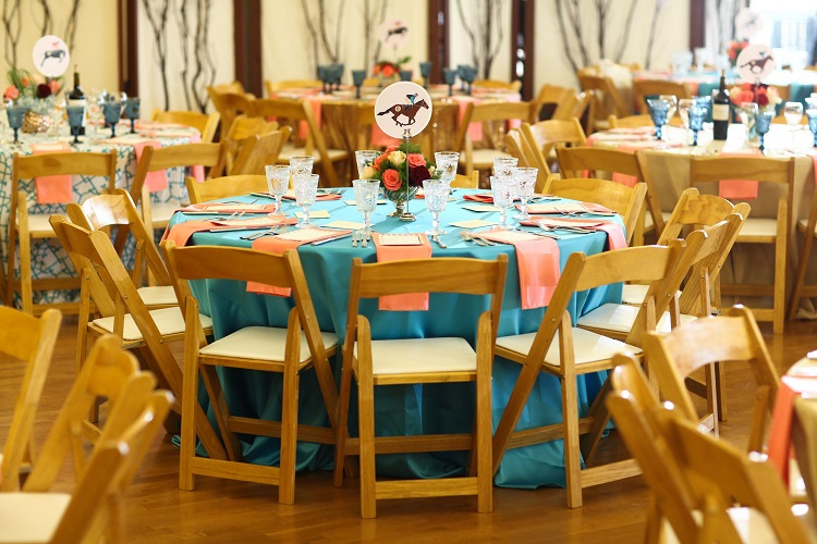 Baja Turquoise Lamour Table Linen, Teal Satin Table Cloth