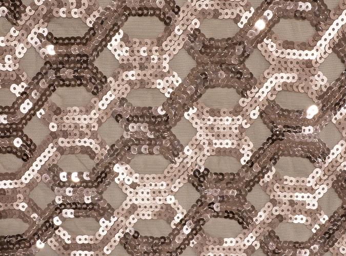 Blush Geometric Sequin