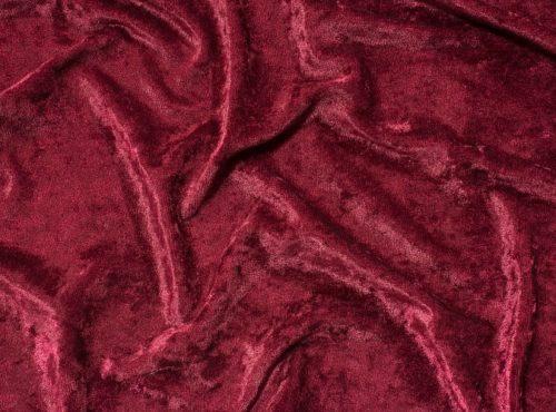 Burgundy Velvet Table Cloth, Red Crushed Velvet