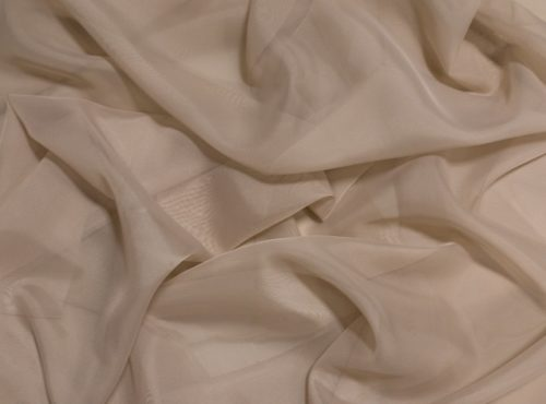 Champagne Voile Table Linen, Sheer Tan Table Cloth