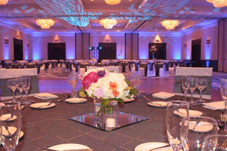 Charcoal Pintuck Table Linen, Grey Pintuck Table Cloth