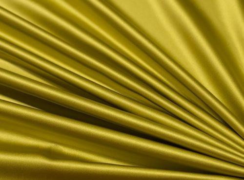 Citron Lamour Table Linen, Green Satin Table Cloth