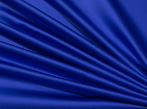 Cobalt Lamour Table Linen, Blue Satin Table Cloth