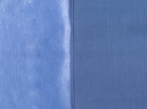 Cornflower Blue Shantung Table Cloth, Light Blue Wide Runner