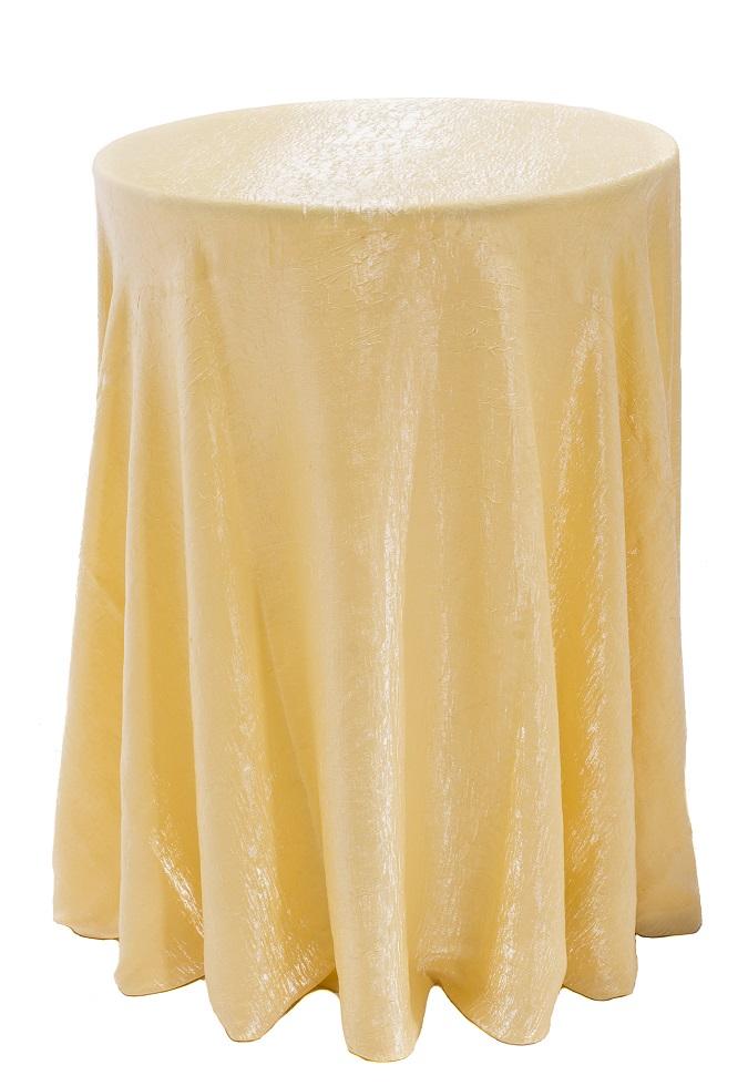 Banana Crush Table Linen, Light Yellow Table Cloth