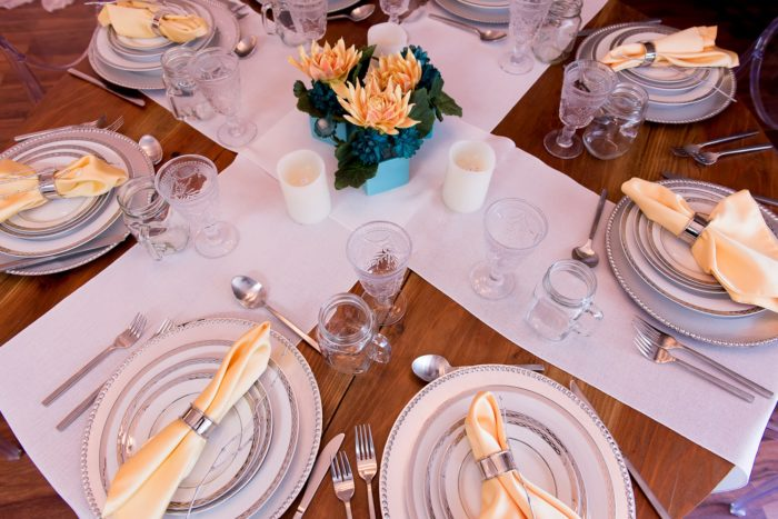 White Vintage Linen Table Cloth, Rustic White Table Linen