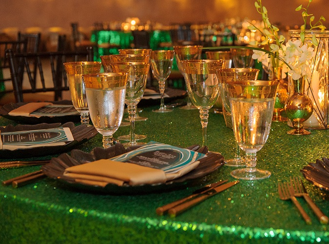Emerald Sequin Table Linen, Green Sequin Table Cloth