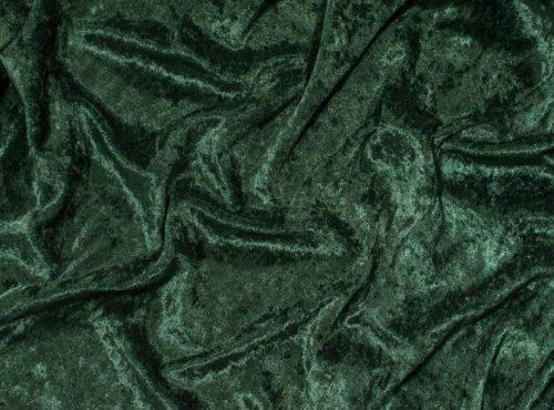 Forest Green Velvet Table Cloth, Dark Green Crushed Velvet