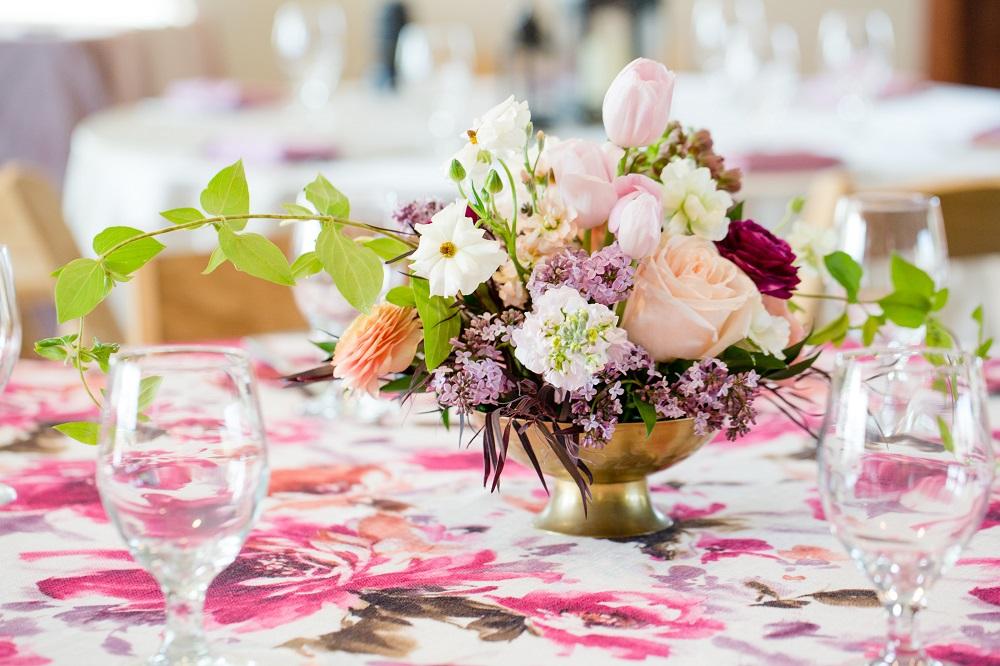 Renoir Table Linen, Floral Table Linen