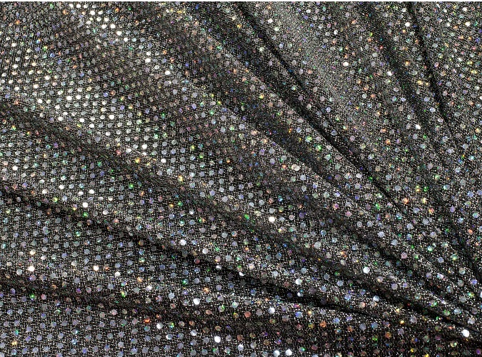 Holographic Sequin Table Linen, Disco Ball Table Cloth