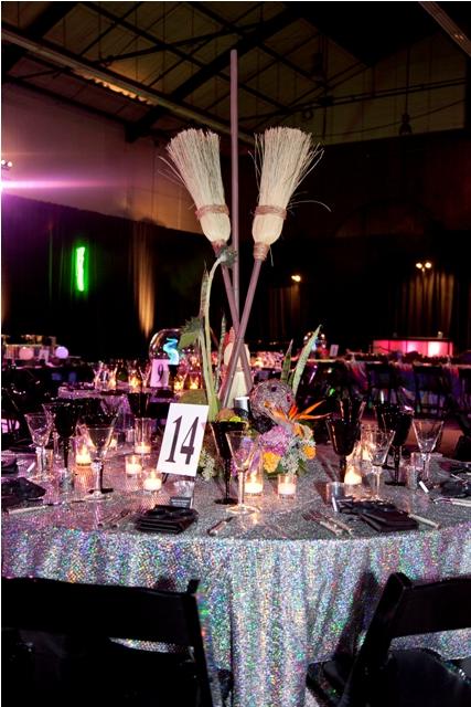 Studio 54 Table Linen, Disco Ball Table Cloth