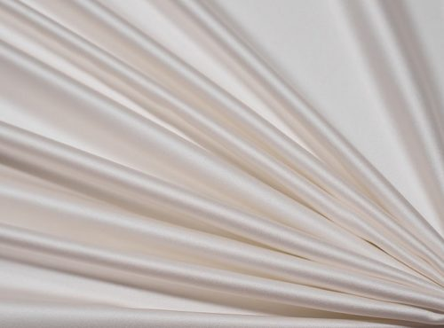 Ivory Lamour Table Linen, Ivory Satin Table Cloth
