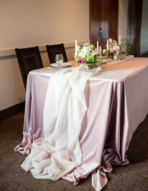 Ivory Voile Table Linen, Ivory Sheer Table Cloth