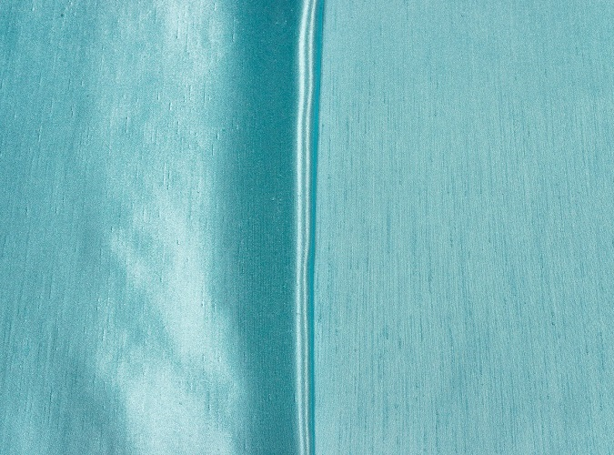 Sky Blue Shantung Table Linen, Light Blue Shantung Table Cloth