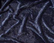 Navy Blue Velvet Table Cloth, Dark Blue Crushed Velvet