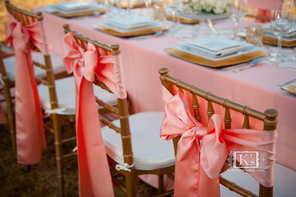 Peach Lamour Table Linen, Peach Table Cloth