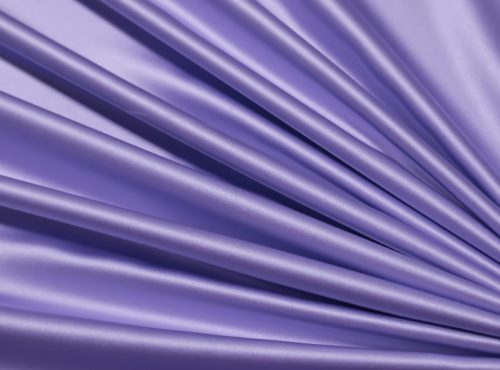 Perwinkle Lamour Table Linen, Light Purple Satin Table Cloth