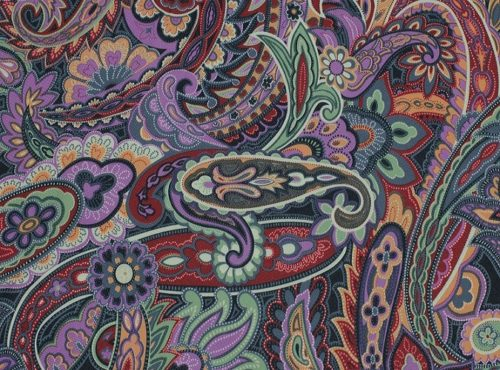 Regal Paisley Table Linen