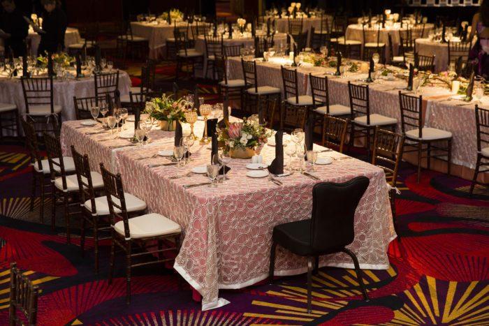 Reno Impact Awards 2016, Champagne Elliptic Sequin