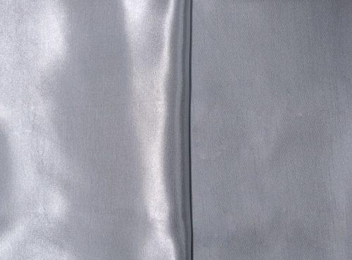 Silver Shantung Table Linen, Grey Shantung Table Cloth