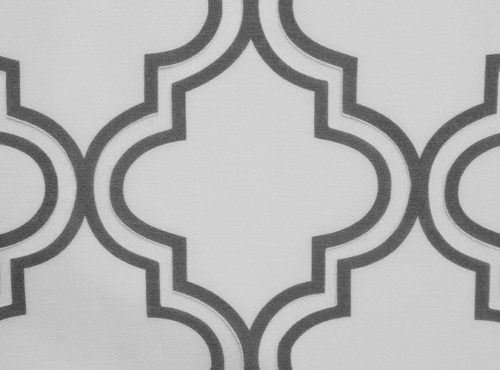 Smoky Grey Moroccan Table Linen