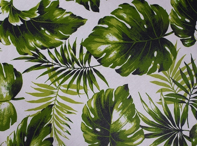 Swaying Palms Table Linen, Tropical Tablecloth