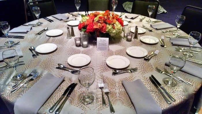 Tangy Dots Table Linen, Tolo Events