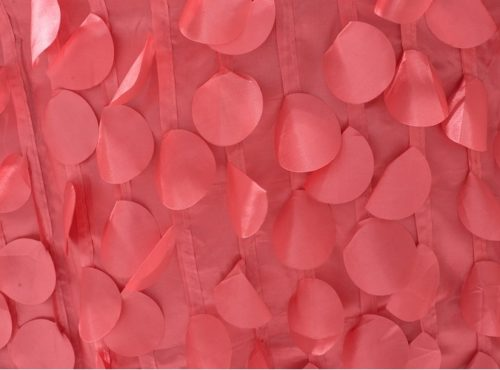 Watermelon Petal Taffeta Table Linen