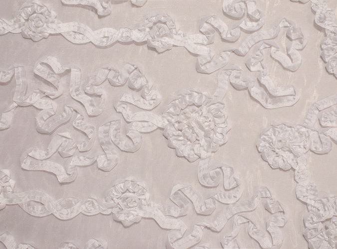White Luxury Organza Table Linen