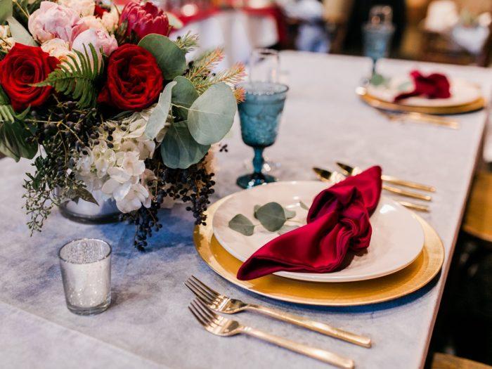Dove Grey Plush Velvet Table Linen, Silver Velvet Table Cloth