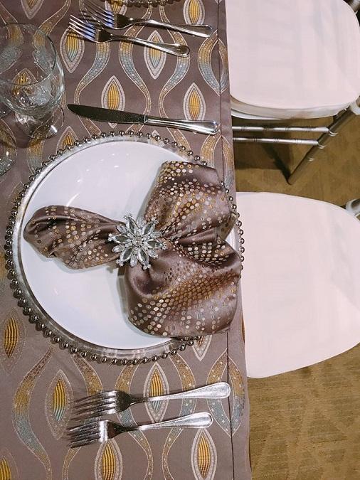 Zesty Eclectic Table Linen, Zesty Dots Table Linen, Floral Table Cloth
