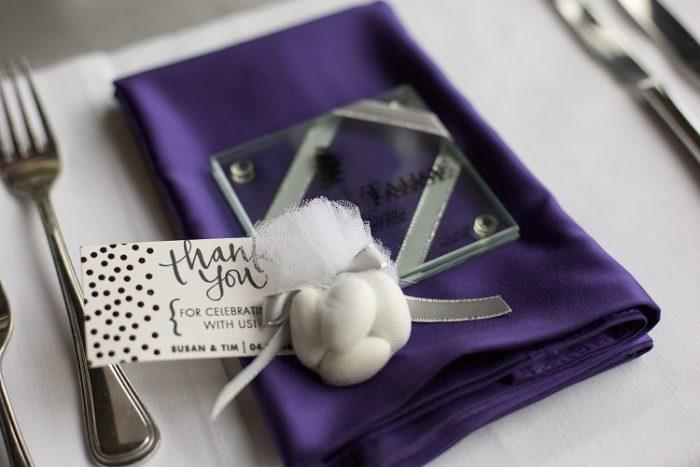 Purple Lamour Table Linen, Purple Satin Table Cloth