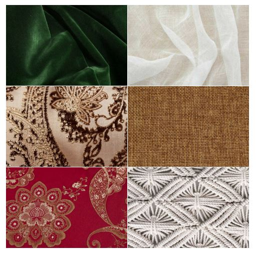 Fall 2018 Linen Trends, Chestnut Martinique, White Voile, Toffee Vintage Linen, Sangria Palazzo, Forrest Green Velvet