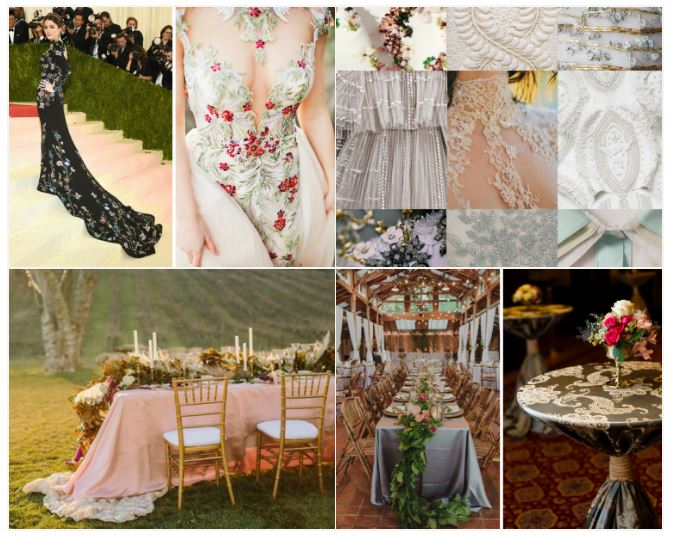 Lace Table Linen