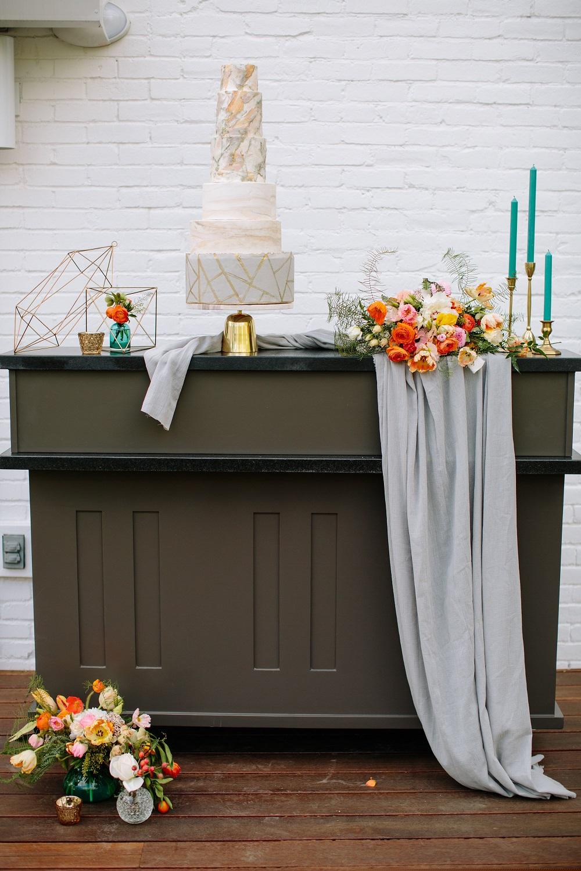 Dove Grey Plush Velvet Table Linen, Elm Estate Wedding Venue