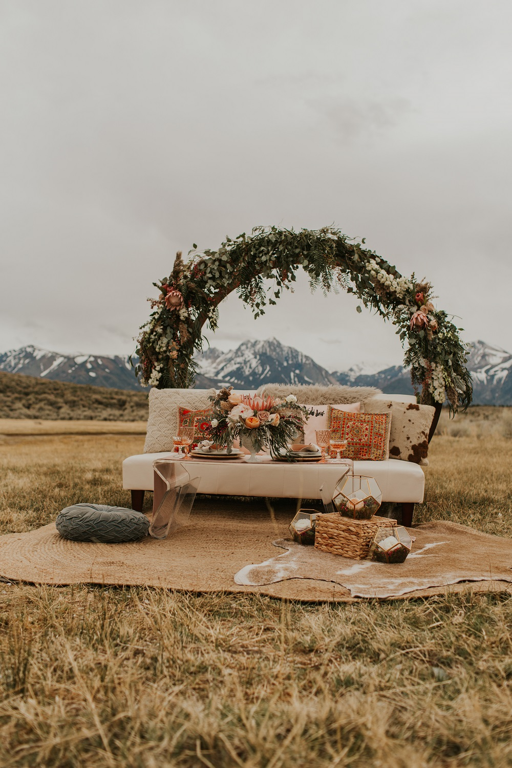 Rustic Event Seating