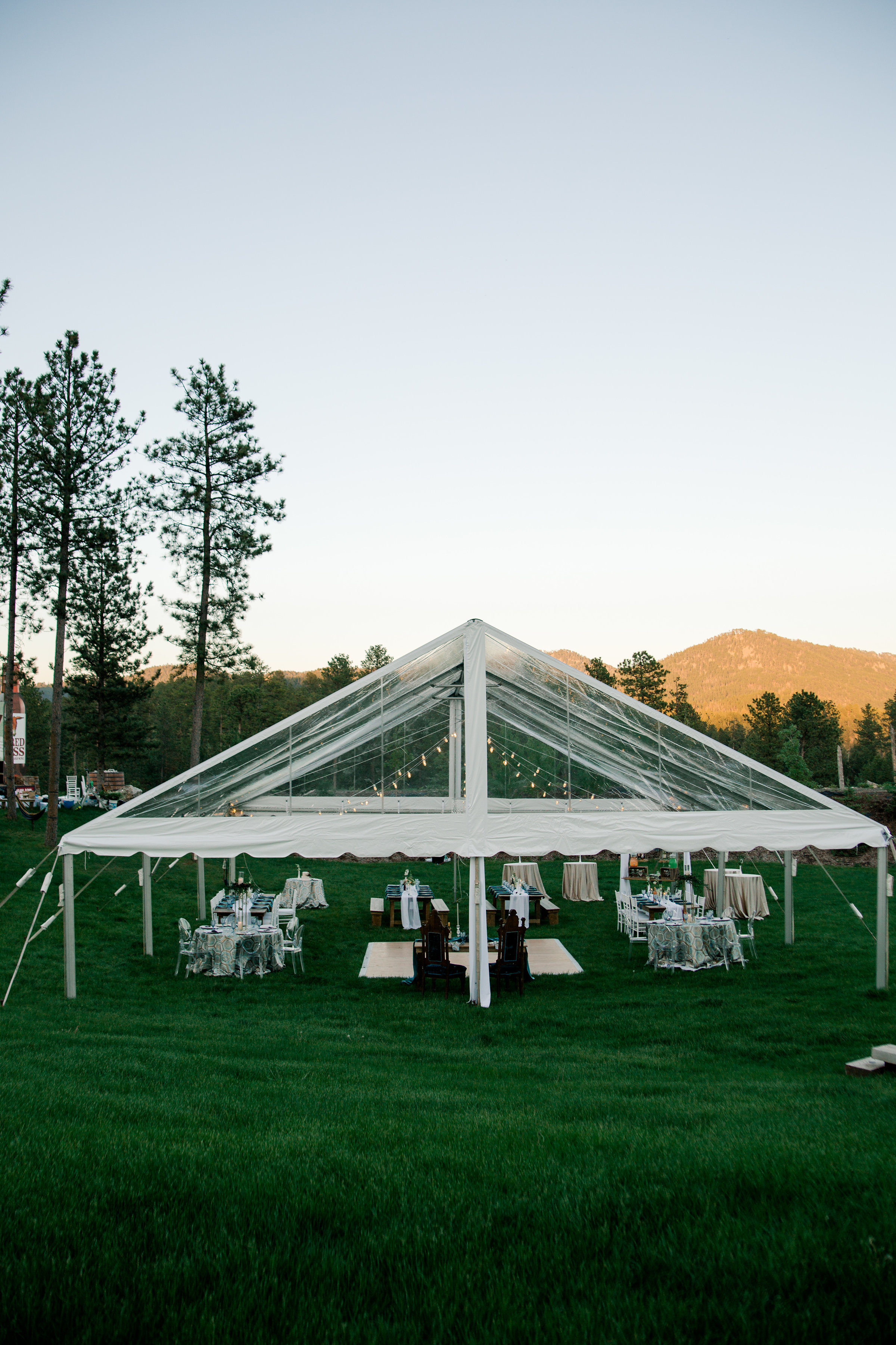 Timeless Clear Tent