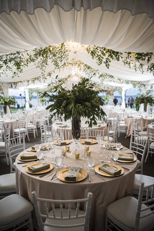 Champagne Crush Table Linen, Woodmark Hotel