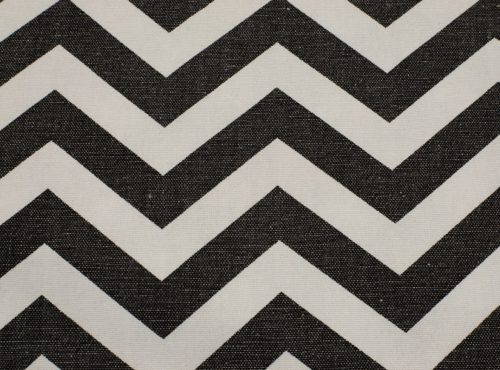Rustic Black & White Chevron Table Linen, Black Chevron Table Cloth