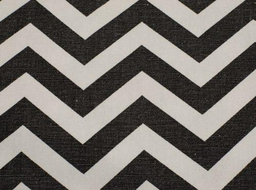 Rustic Black & White Chevron Table Linen, Black Chevron Table Cloth