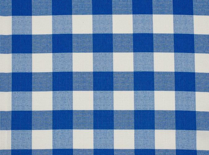 Blue Check Table Linen, Blue Gingham Table Linen