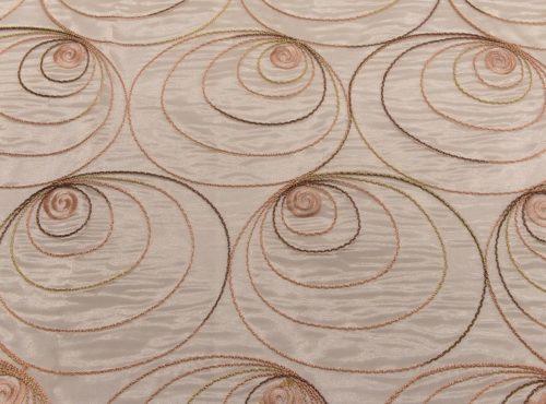 Blush Shimmer Swirl Table Linen