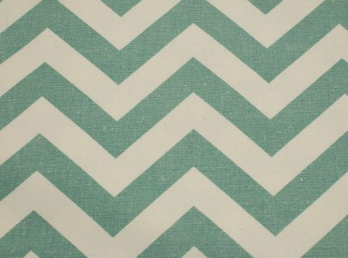 Rustic Tiffany Blue Chevron, Teal Chevron Linen